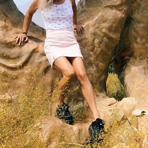 Brandi Melville pink skirt